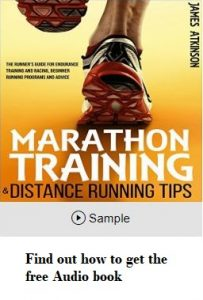 Marathon training audio book